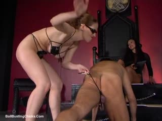Leashed Nuts Evil Threesome (done)(good)