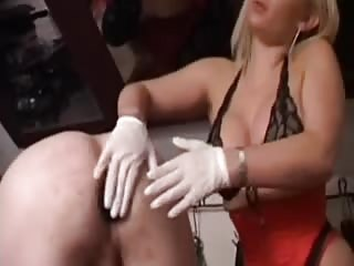 Blonde hottie smashes tight ass with her strapon dildo
