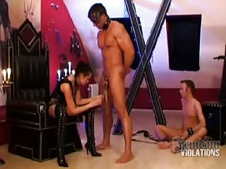 A man with a  worthless small dick is worth to be tortured