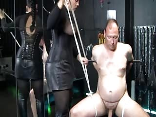 Useless completely tied in the dungeon